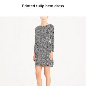 Jcrew Factory heart print dress - NWT